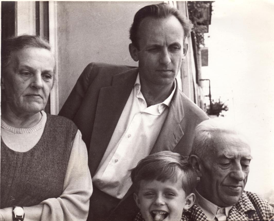 Wanda Czapska, Andrzej Pajzderski, jego syn Paweł i Władysław Zambrzycki