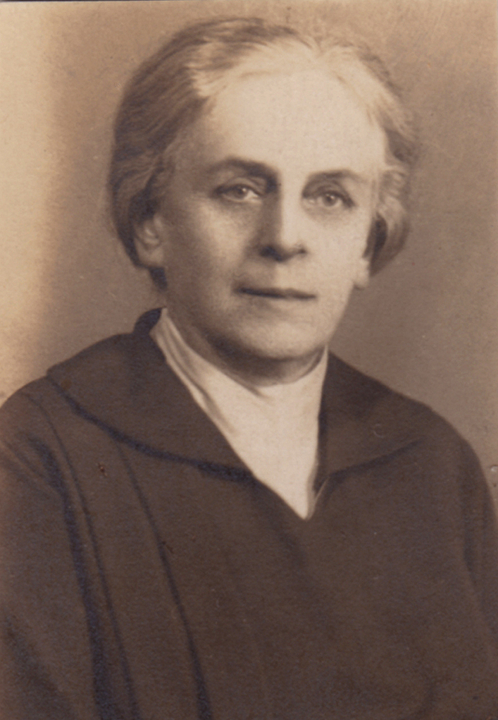 Aniela Ludwika Zambrzycka w 1929 roku