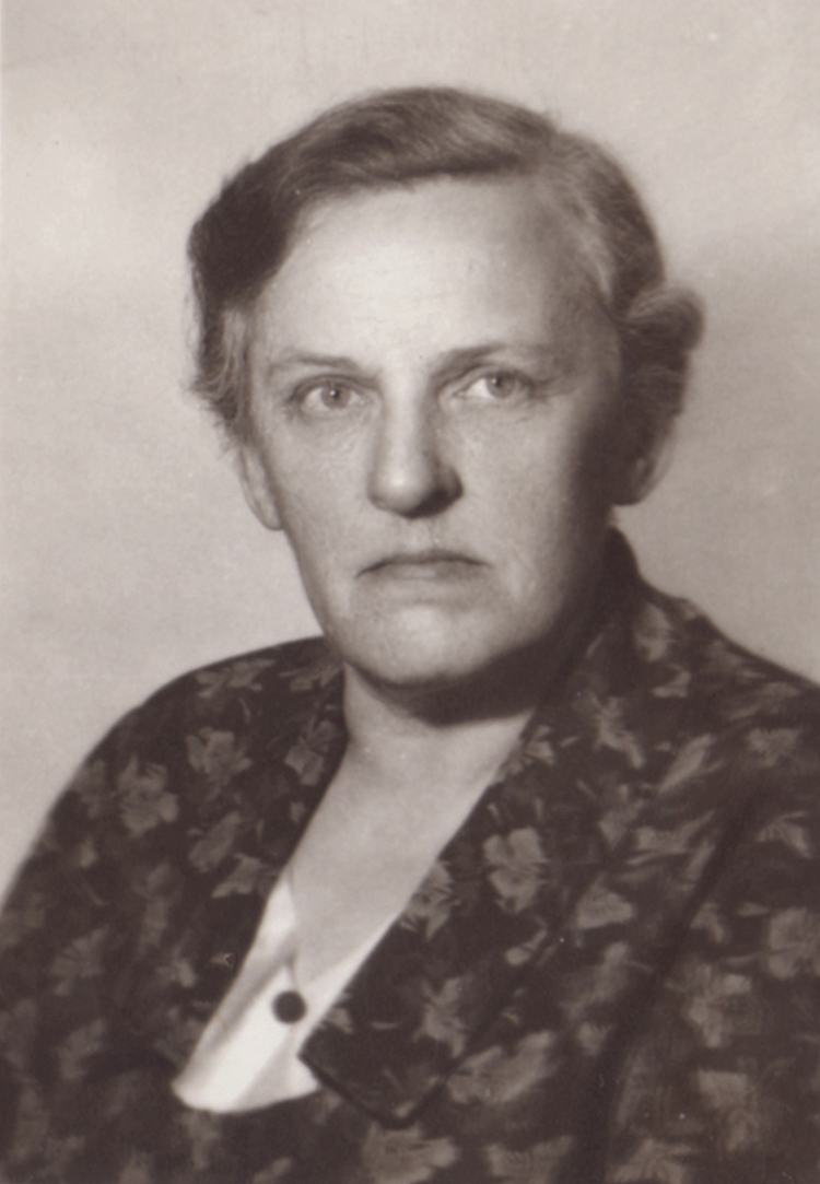 Wanda Zambrzycka-Czapska w 1960 roku