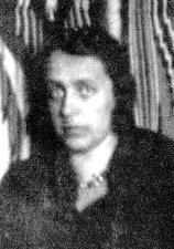 Zofia Zambrzycka-Babińska w Komorowie w 1934 roku