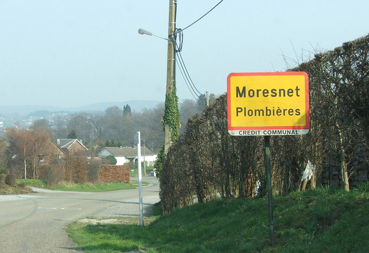 Znak drogowy Moresnet